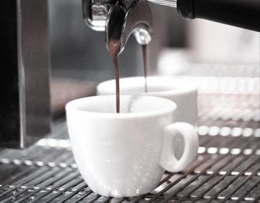 Espresso Service beim Skiverleih